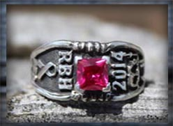 Red Bluff High School Class ring